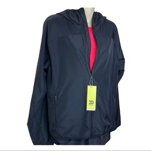 NWT All in motion hooded light jacket